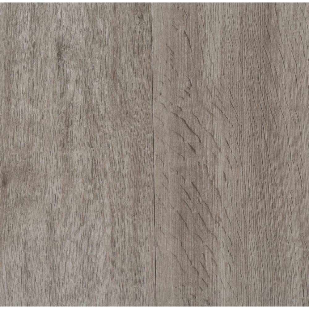 Home Legend Embossed Oak Gray 7 In Wide X 48 In Length Click Lock Luxury Vinyl Plank 23 36 Sq Ft Case Hlvt3031 Luxury Vinyl Plank Luxury Vinyl Vinyl Flooring Kitchen