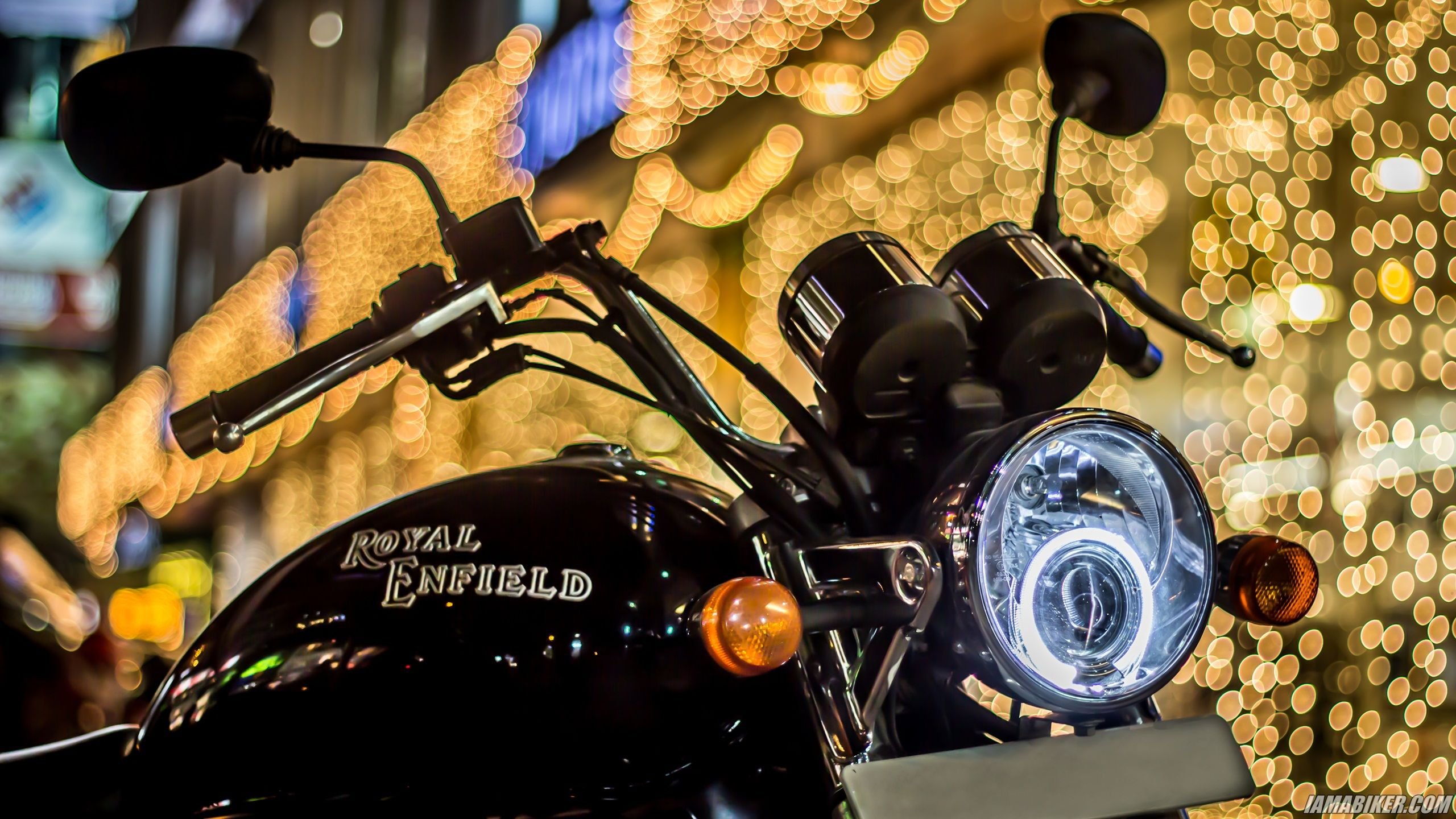 Diwali HD Wallpapers - Royal Enfield Thunderbird 500