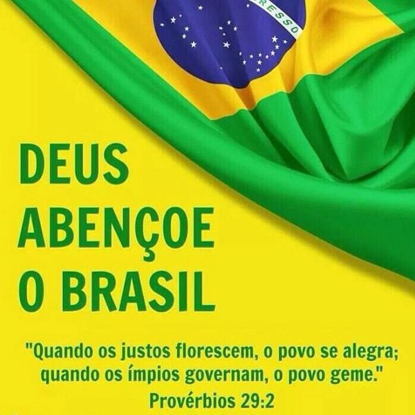 Resultado de imagem para imagens deus abençoe o brasil