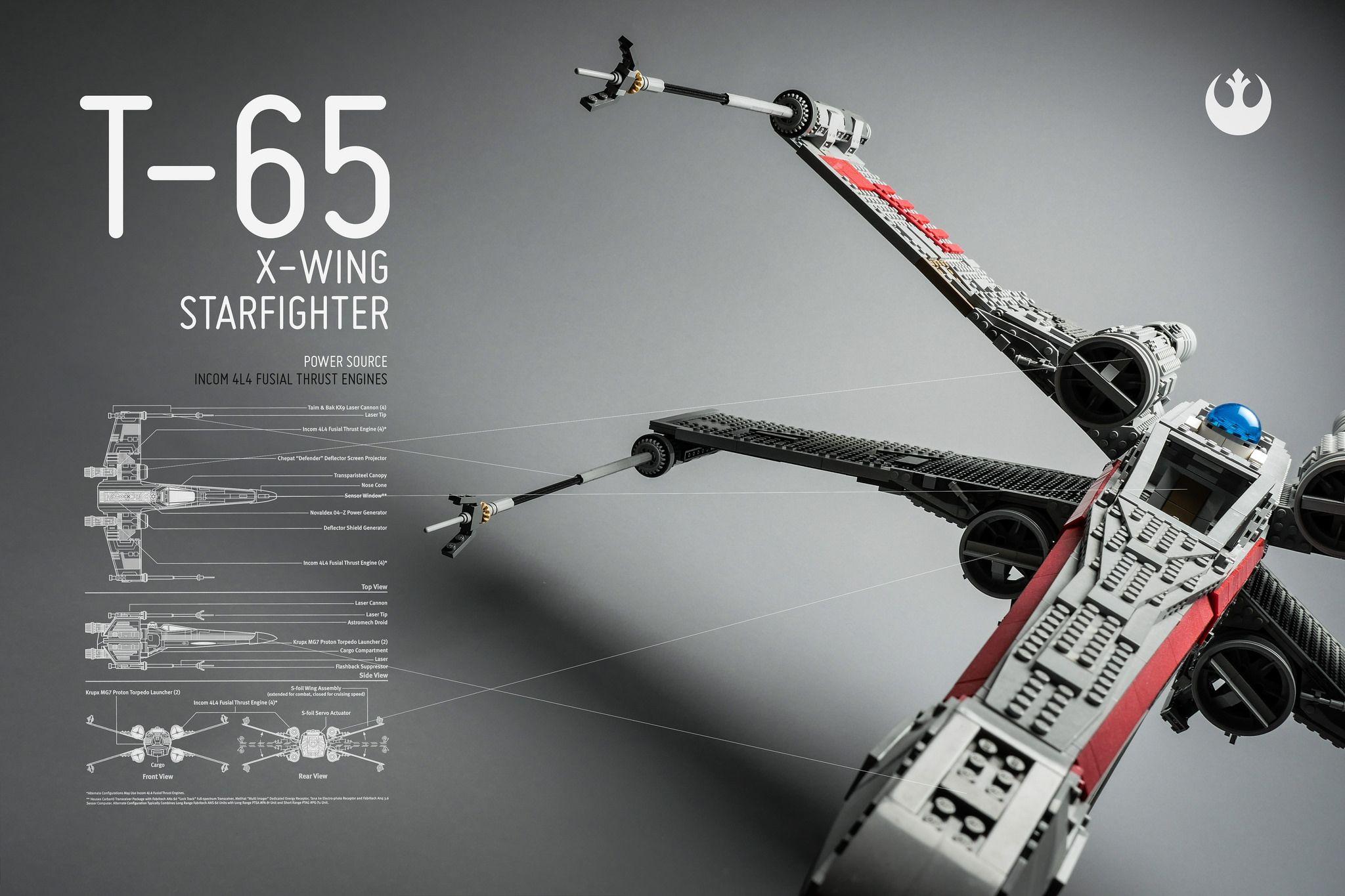 T 65 X Wing Starfighter Starfighter X Wing Starfighter Lego Star Wars