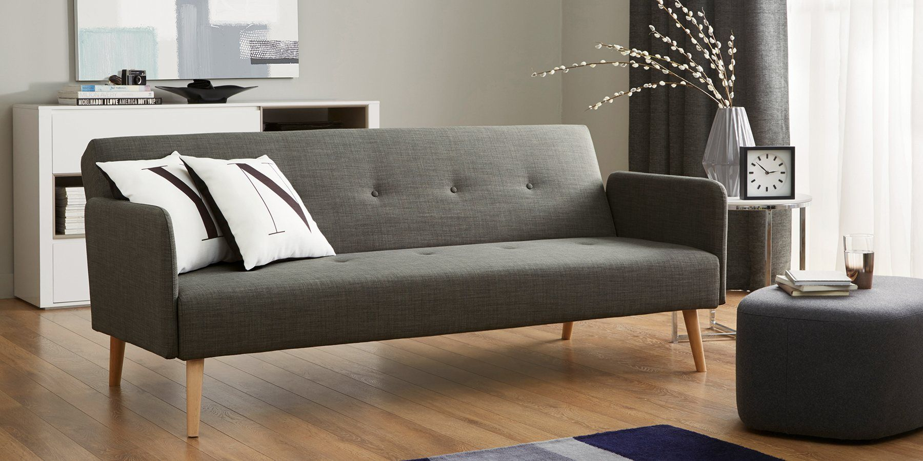 Buy Finnley Occasional Sofa Bed Medium 2 People Simple