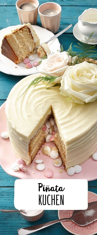 Photo of Pinata-Torte –  Pinata-Torte Rezept – REWE.de www.rewe.de / …  – #Piñata #P…