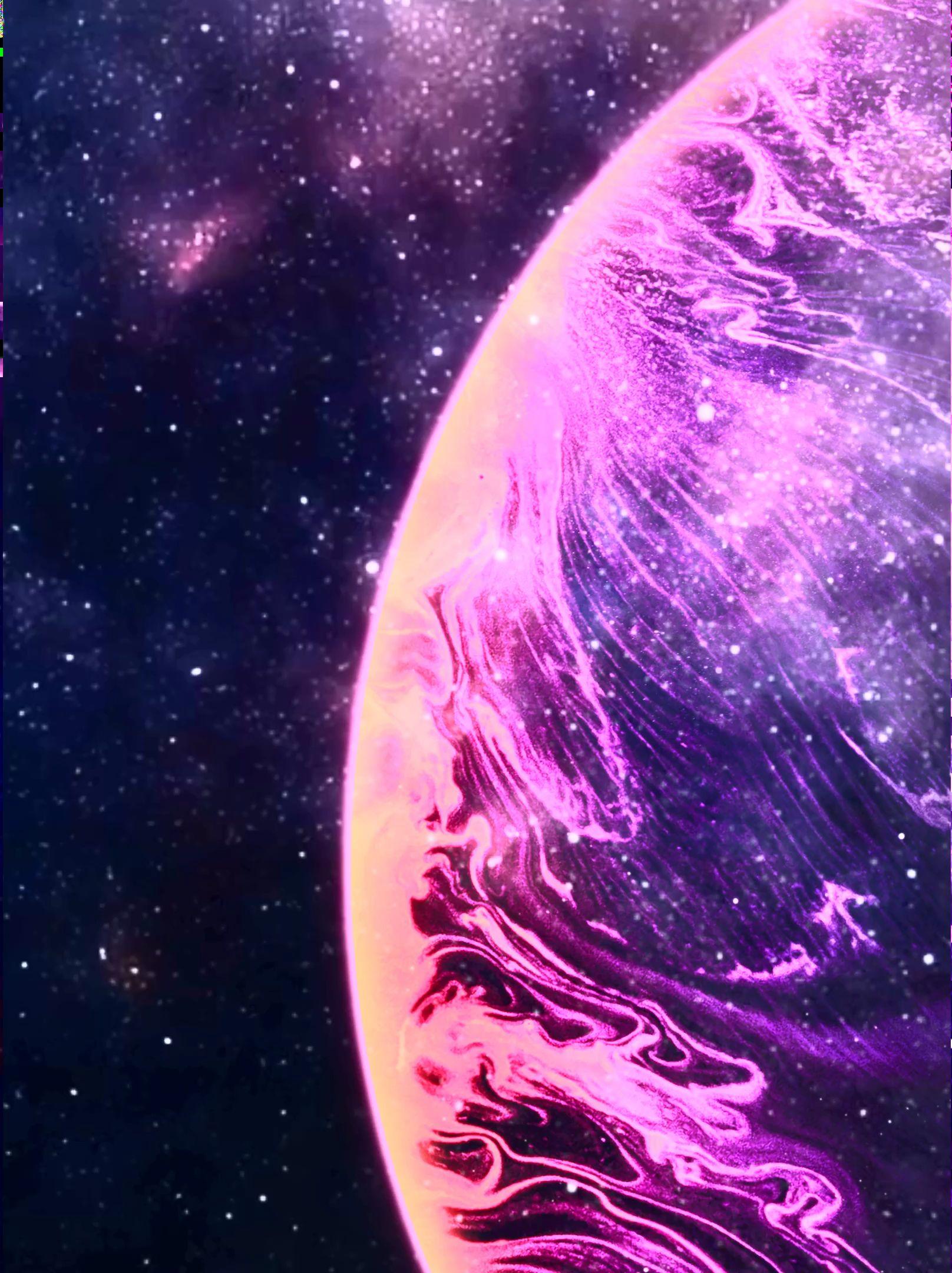 Planet Galaxy Video Galaxy Art Aesthetic Galaxy Planets Wallpaper Galaxy wallpaper live photo