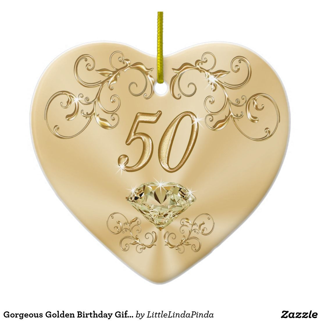 gorgeous golden birthday gifts for her ornaments pinterest