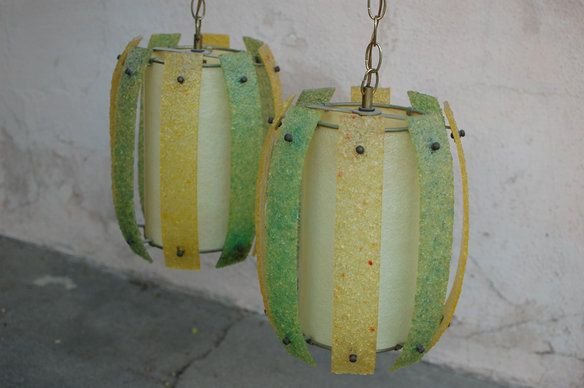 Amazing Vintage Hanging Lamps — Fixed price $300
