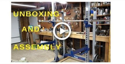 Fitness Gear Pro Half Squat Rack Unboxing And Assembly #fitness #fitnessgearprohalfrack