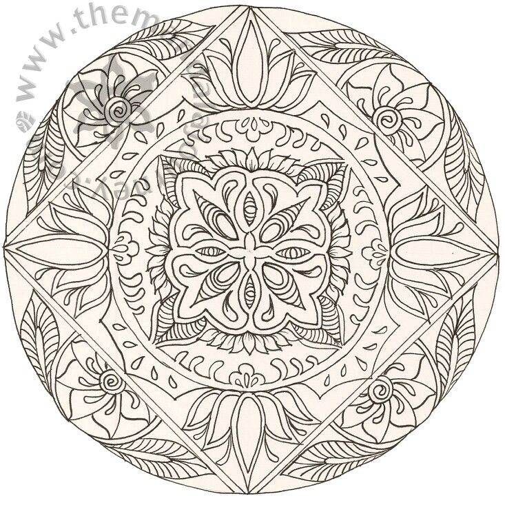 Dibujos Mandalas Simples. Dibujos Mandalas Simples. Dibujar Mandalas ...