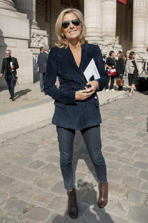 6bd4e8ed07e406 Claire Chazal Claire Chazal, Idées De Style, Mode Femme Hiver, Bien  Vieillir,