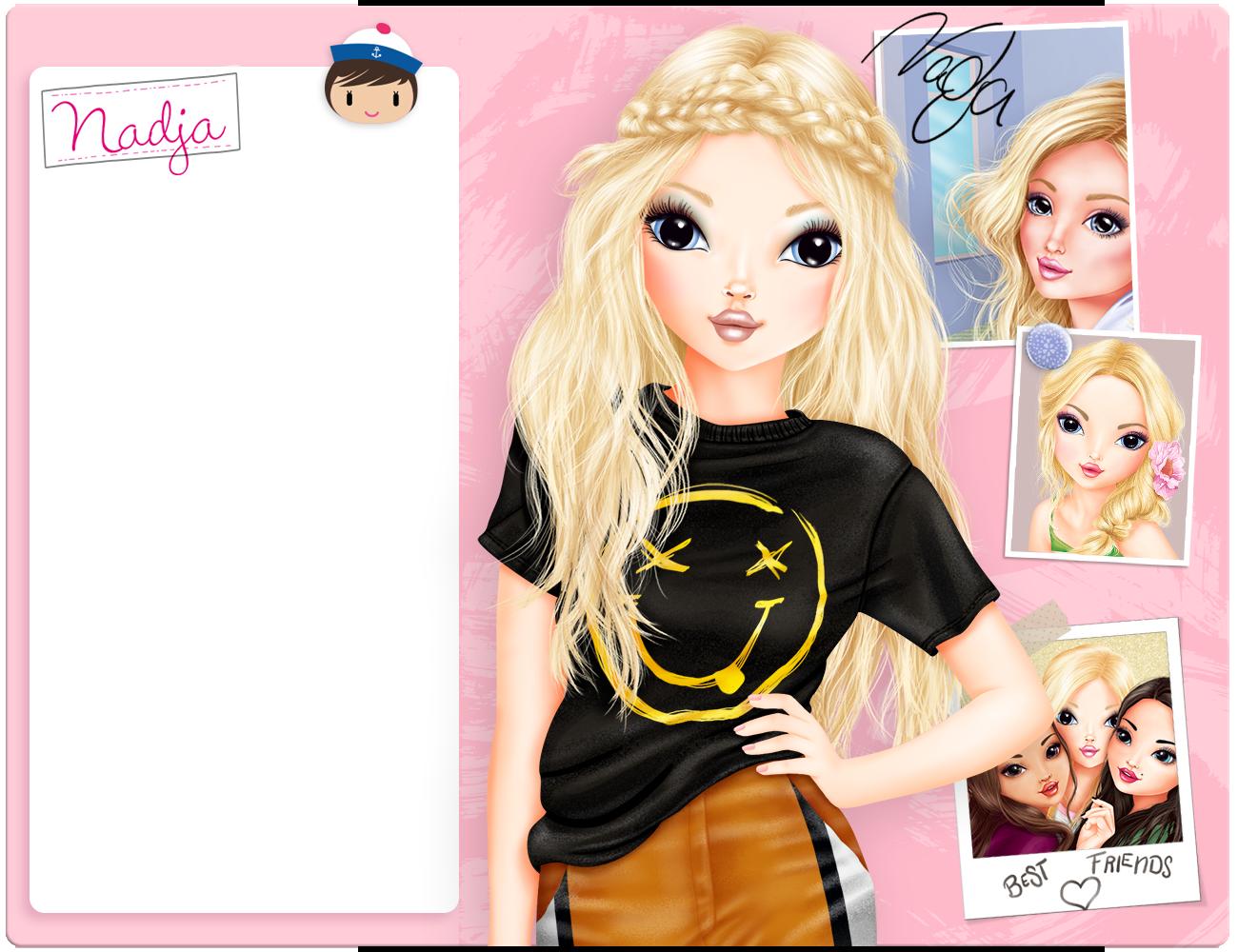 pin de helene en top model lea♥  modelos dibujos kawaii