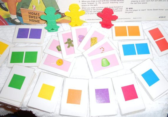 candyland game pieces - Google Search Candyland Candyland games
