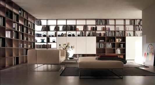 I would love to have the walls of the den covered in book shelves....LOVE