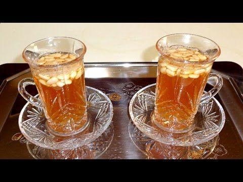 The Vert Tunisien طريقة تحضير شاي تونسي أخضر بالبندق و فوائده Youtube Desserts Food Cafe
