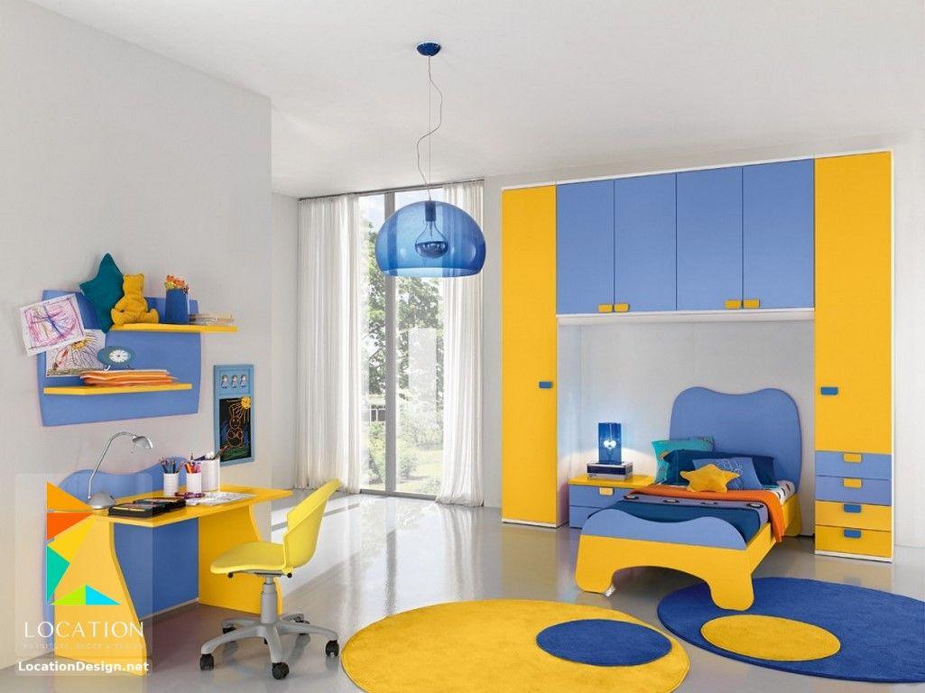 الوان غرف اطفال مودرن تناسب الجنسين 2018 2019 Kids Rooms لوكشين ديزين نت Kids Bedroom Furniture Sets Cool Kids Bedrooms Bedroom Bed Design