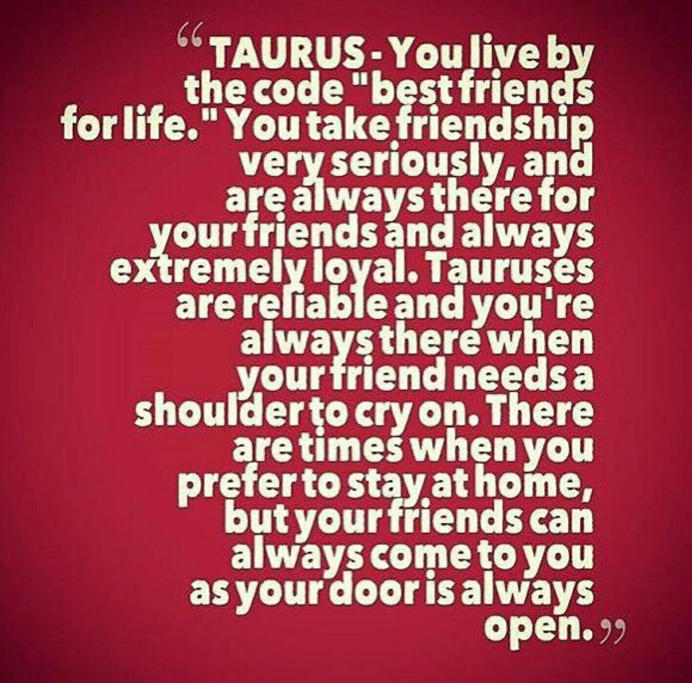 NICHOLE: Taurus and taurus friendship