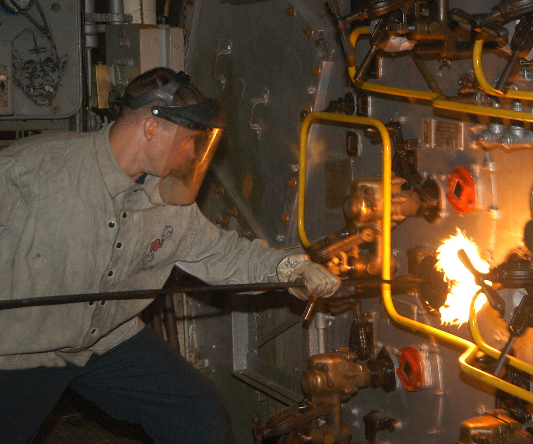 carrier boiler. aircraft carrier boiler room - google search r