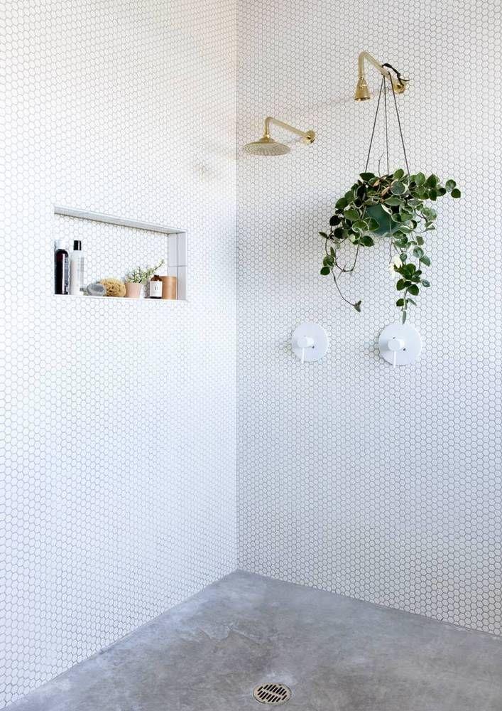 Alyson Fox S Austin Texas Home Concrete Shower Bathroom