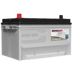 Autocraft Platinum AGM Battery, Group Size 65, 750 CCA