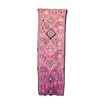 Boujad rug, vintage Moroccan, tapis Berber. mid century modern design