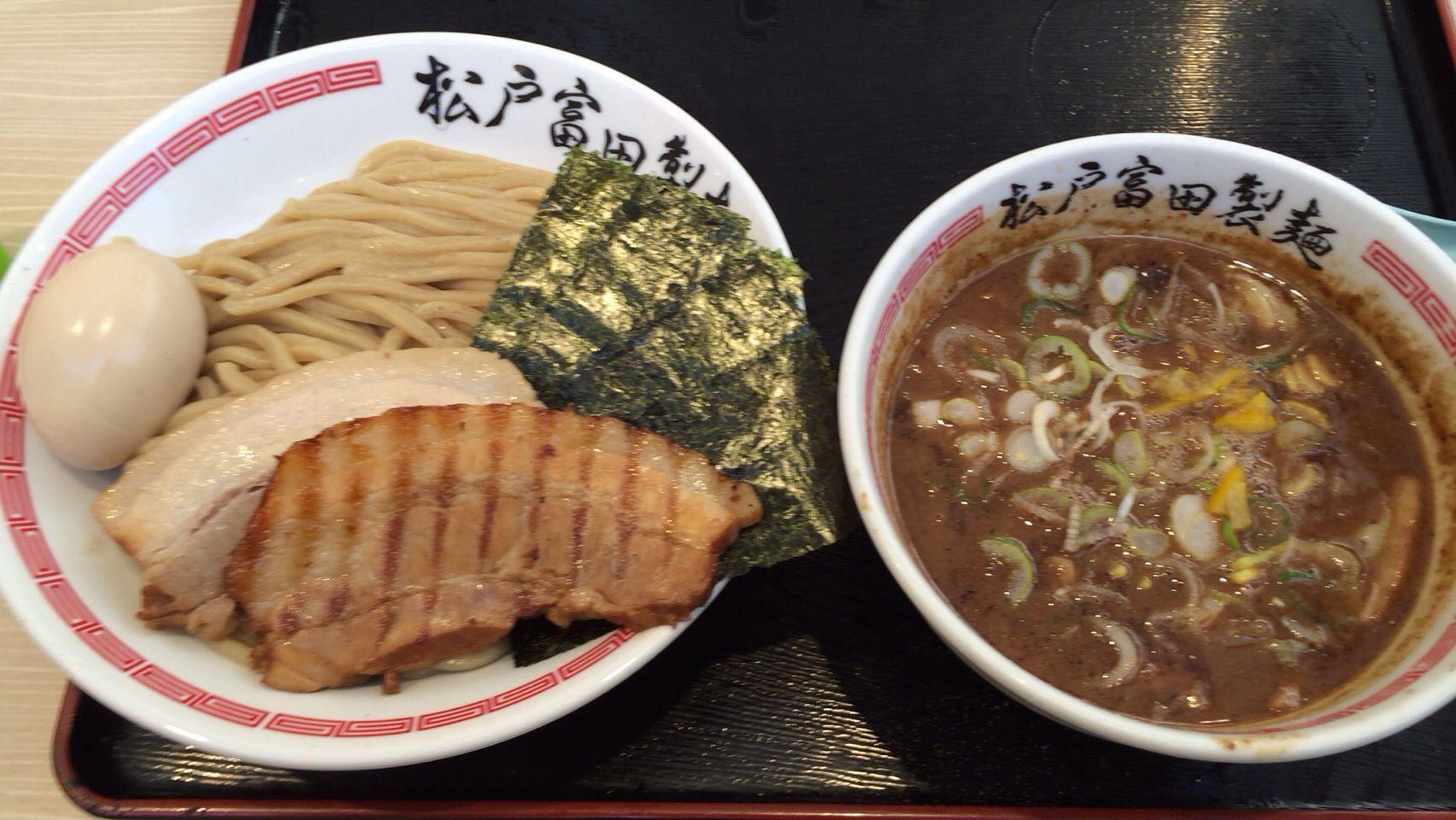 松戸富田製麺 特製つけそば ¥1000 | Ramen | Pinterest | そば ...