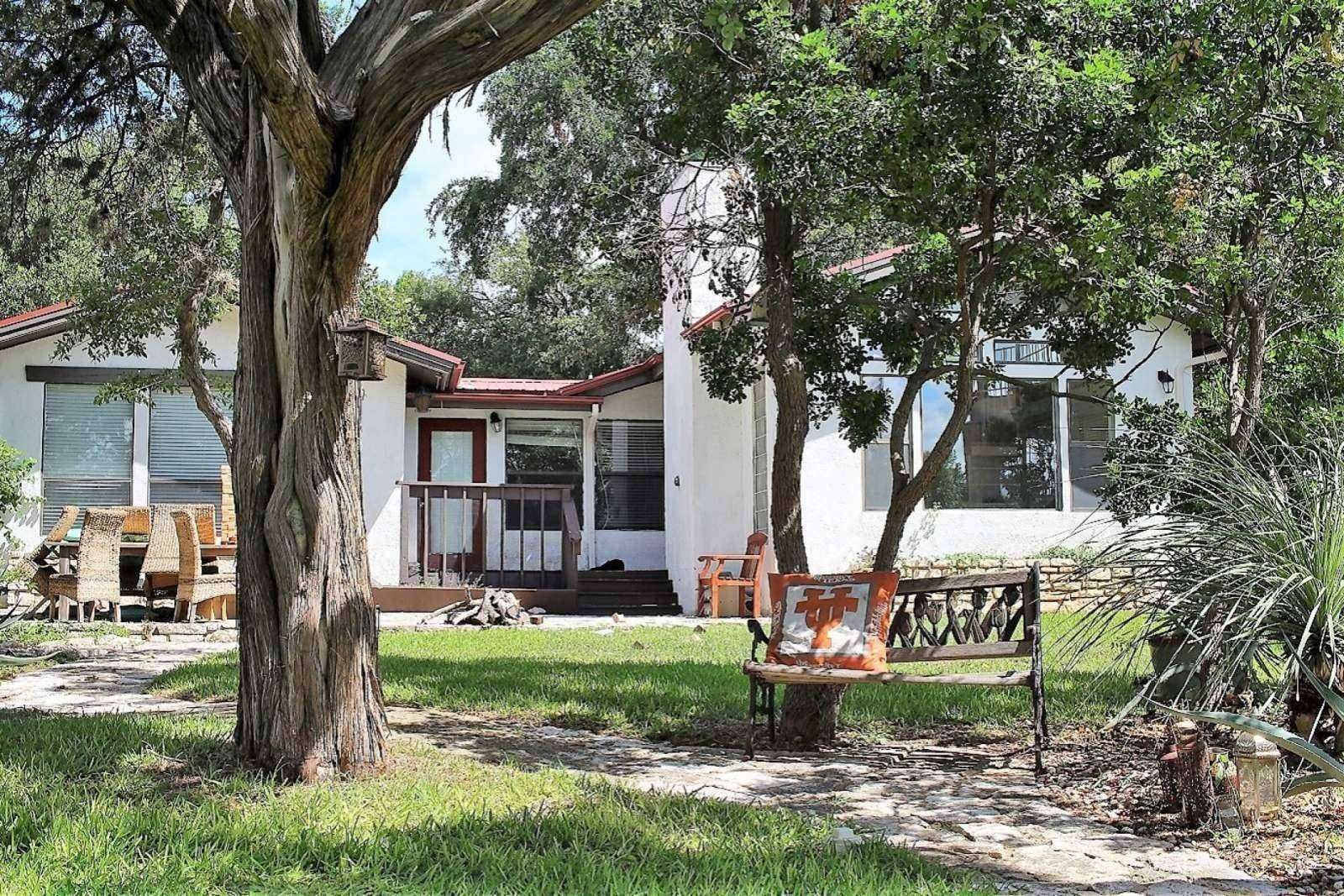 Austin vacation rental beautiful lakefront guest house