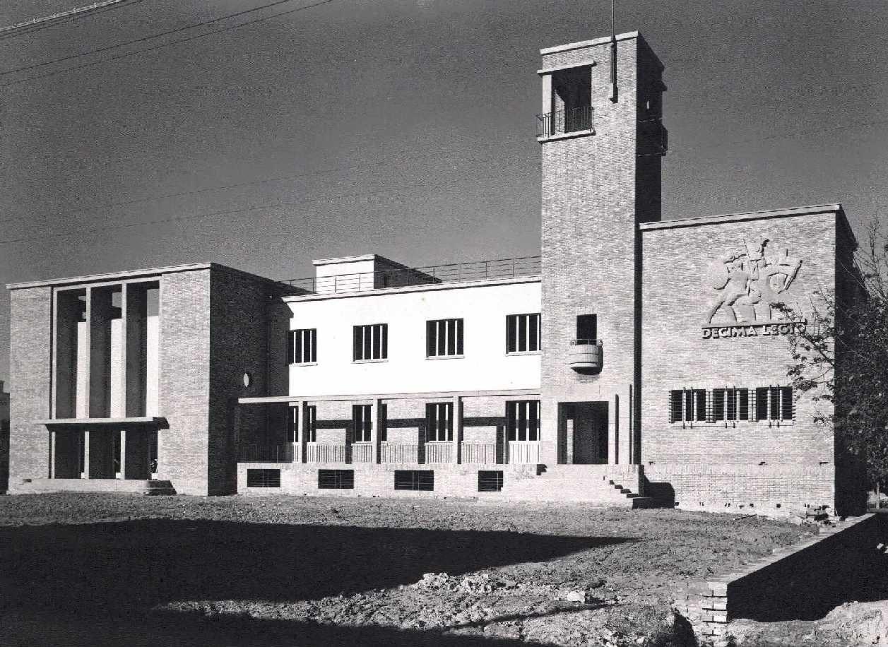 Casa del fascio alberto legnani la casa del fascio di borgo panigale 1930 1933 - Casa del cuscinetto bologna ...