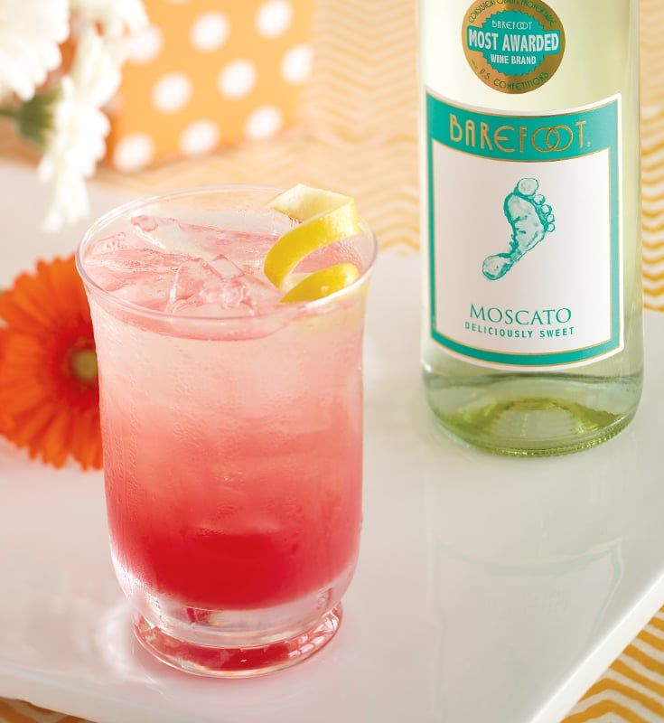 mom's watermelon moscato | recipe | barefoot wine, wine and beverage