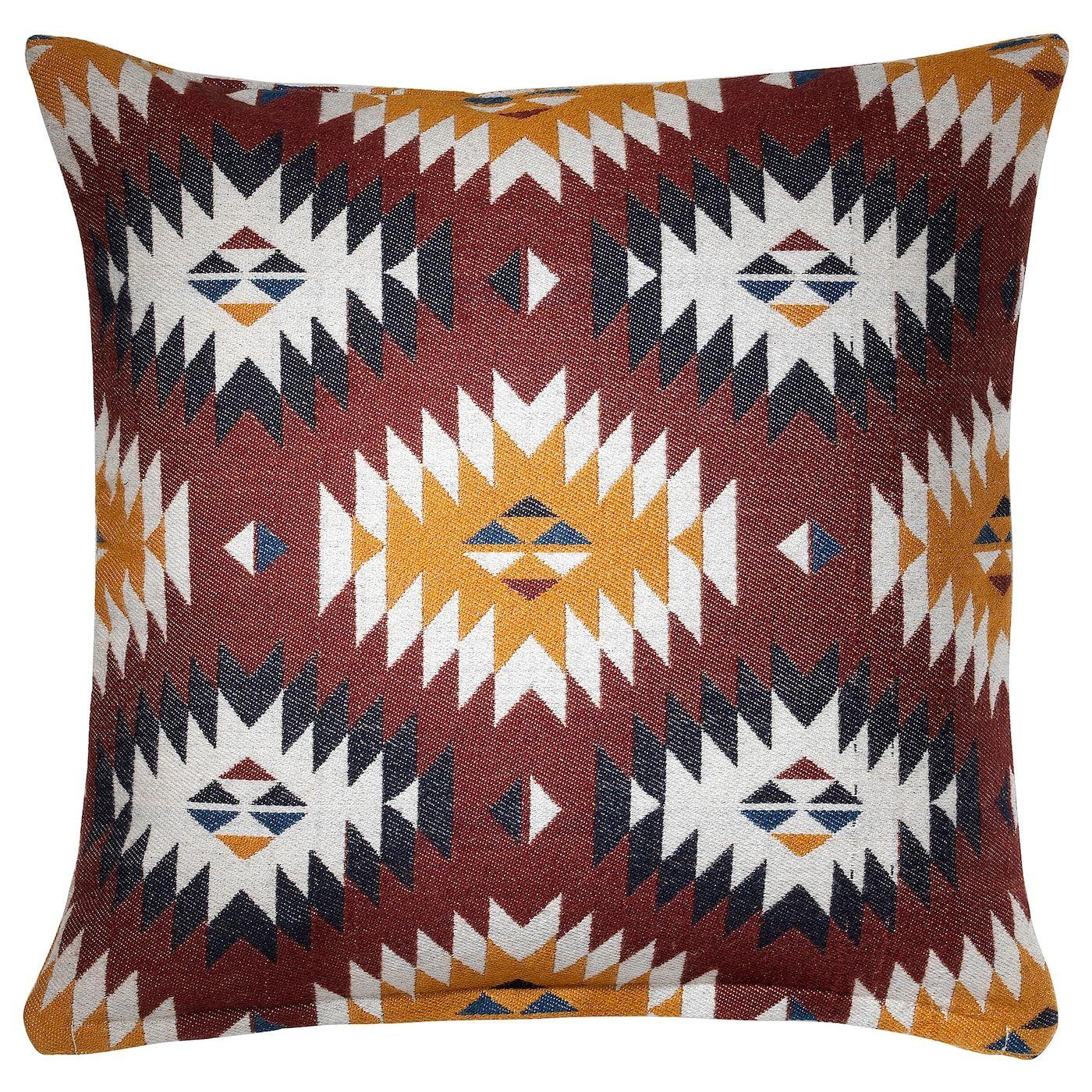 Fransine Kuddfodral Flerfargad 50x50 Cm Ikea Kuddar Och Textiler