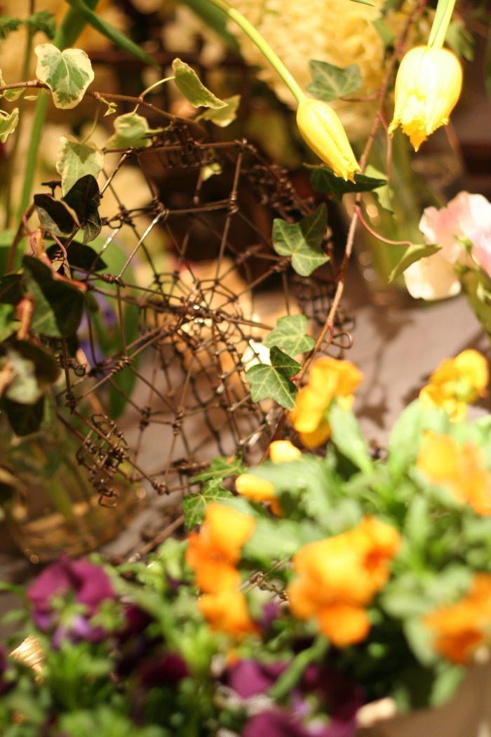シェ松尾青山サロン様の装花 ポルトガル風 : 一会 ウエディングの花