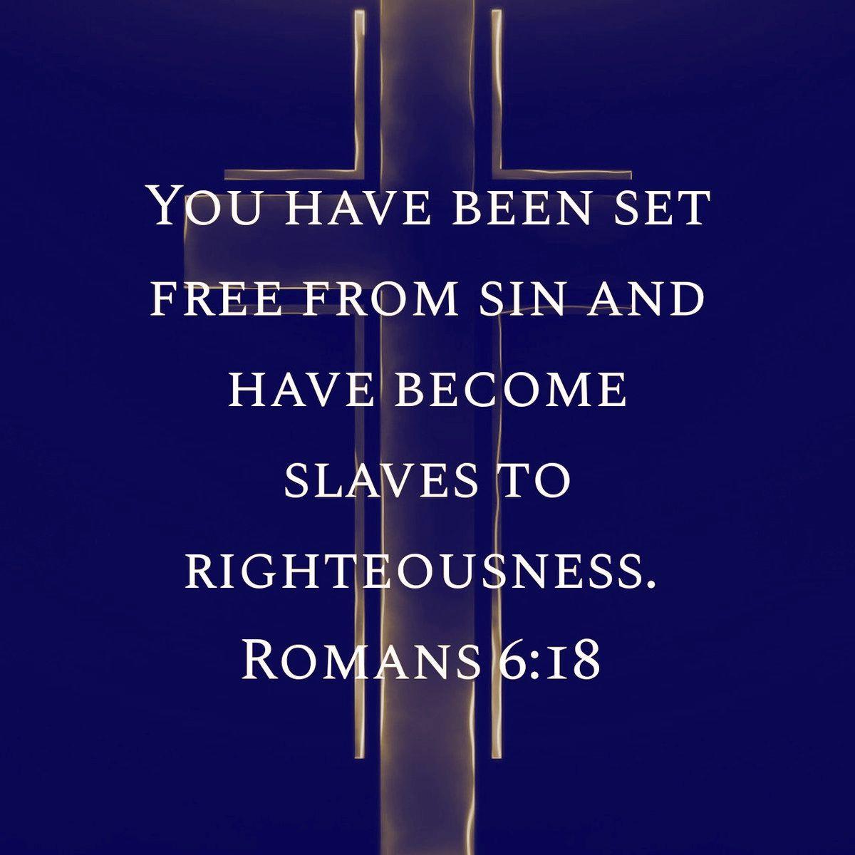 Romans 6:18 | Romans 6, Romans, Lettering
