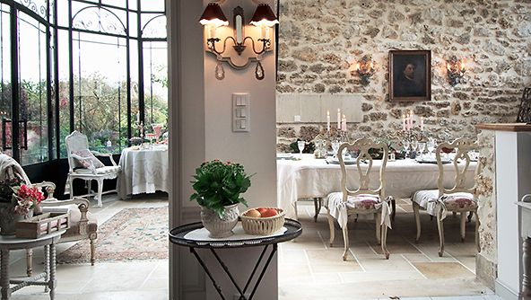 Salle à manger campagne chic | Interior Design Love | Pinterest ...