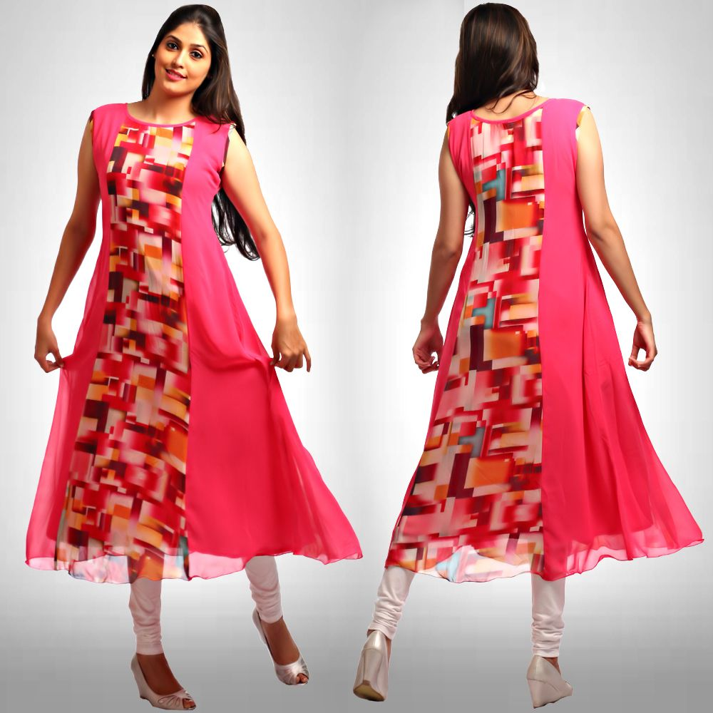 Womens Ladies Umbrella Cut Floral Dress Sleeveless Top Tie Dye Printed Design