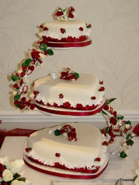 Wedding Cake ImagesWedding IdeasHeart Shaped