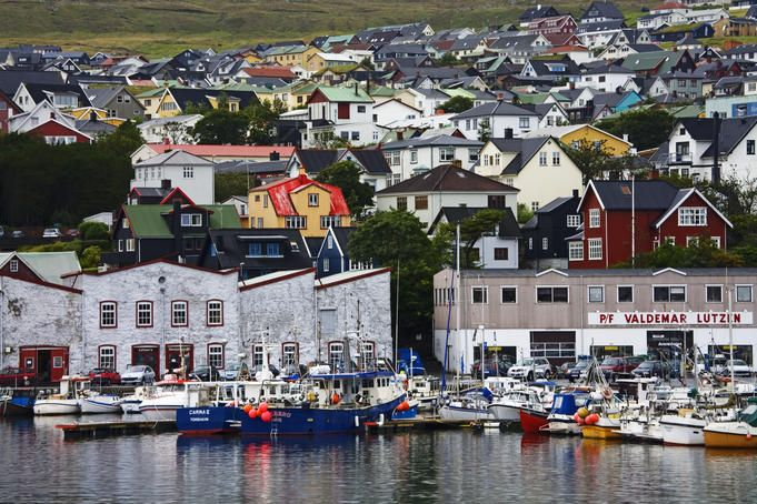Port of Torshavn, Faroe Islands  Another lovely stop, could explore all the little nooks and crannies here all day long.