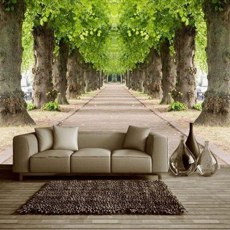 10 Beautiful 3d Wallpaper Effect Mural Ideas Wall Wallpaper Wallpaperideas Room Wallpaper Landscape Wallpaper Wall Wallpaper #wall #mural #ideas #for #living #room