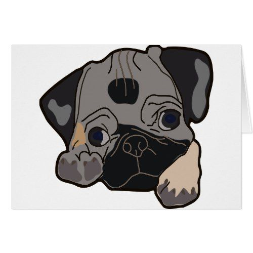 Pug Breed Card Petgifts Pet Gifts Giftideas Giftidea