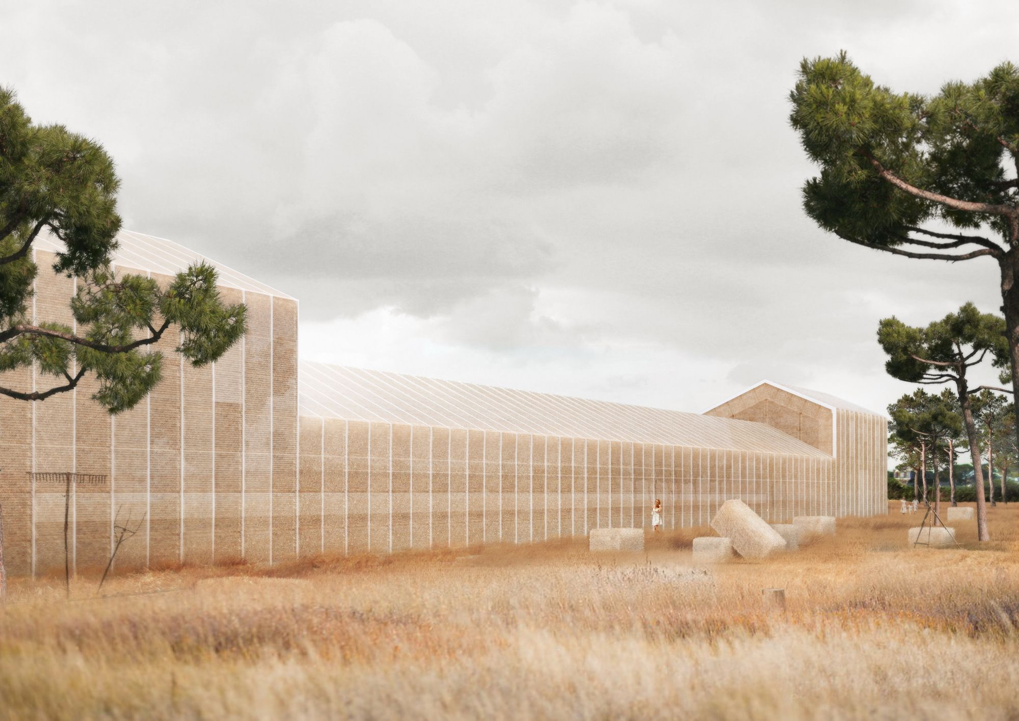 Designed by Georges Batzios Architects. A proposal from George Batzios Architects for the Konaki Averof Cultural Center in Greece uses a cutting edge, sustainable approach to revive a...