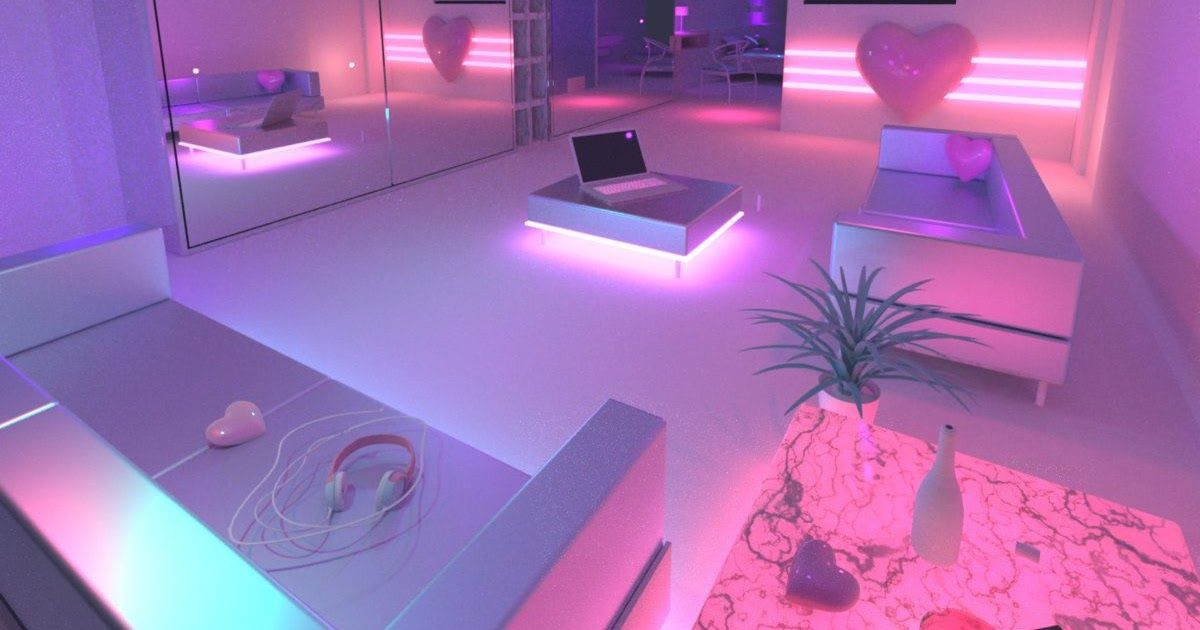 Futuristic Bedroom Designs Turn Your Bedroom Into A Beautiful Place That Matches Your Taste And Preferences Modern Home Decor W In 2020 Blue Neon Lights Girl Bedroom Designs Neon Lights Bedroom