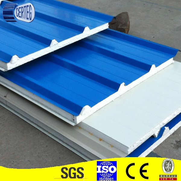 Easy Installation Best Price Eps Sandwich Panel For Roof And Wall Vinyl Siding Repair Roof Panels Fibreglass Roof