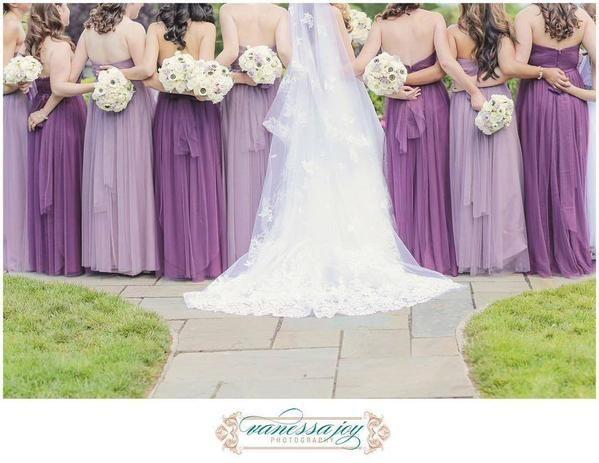 Chiffon Floor Length Bridesmaids Dresses Are Exquisite In