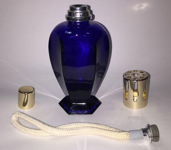 Lampe Berger Catalytic Fragrance Lamp Six Sided Cobalt Blue See Description Fragrance Cobalt Blue Perfume Bottles