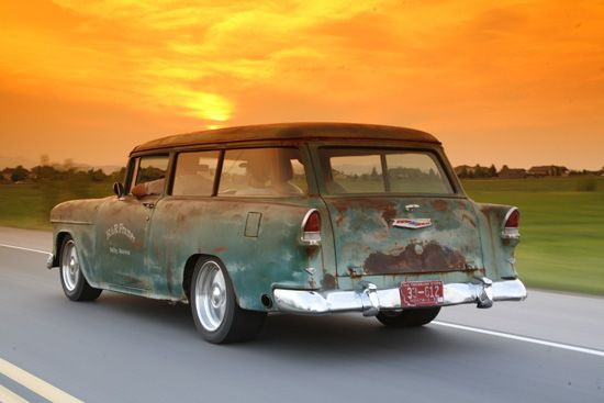 Chevy Classic Door Wagon Bowtie Pinterest Chevy Rats