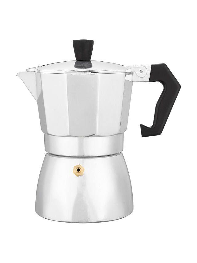 John Lewis & Partners Espresso Maker, 3 Cup | Espresso ...