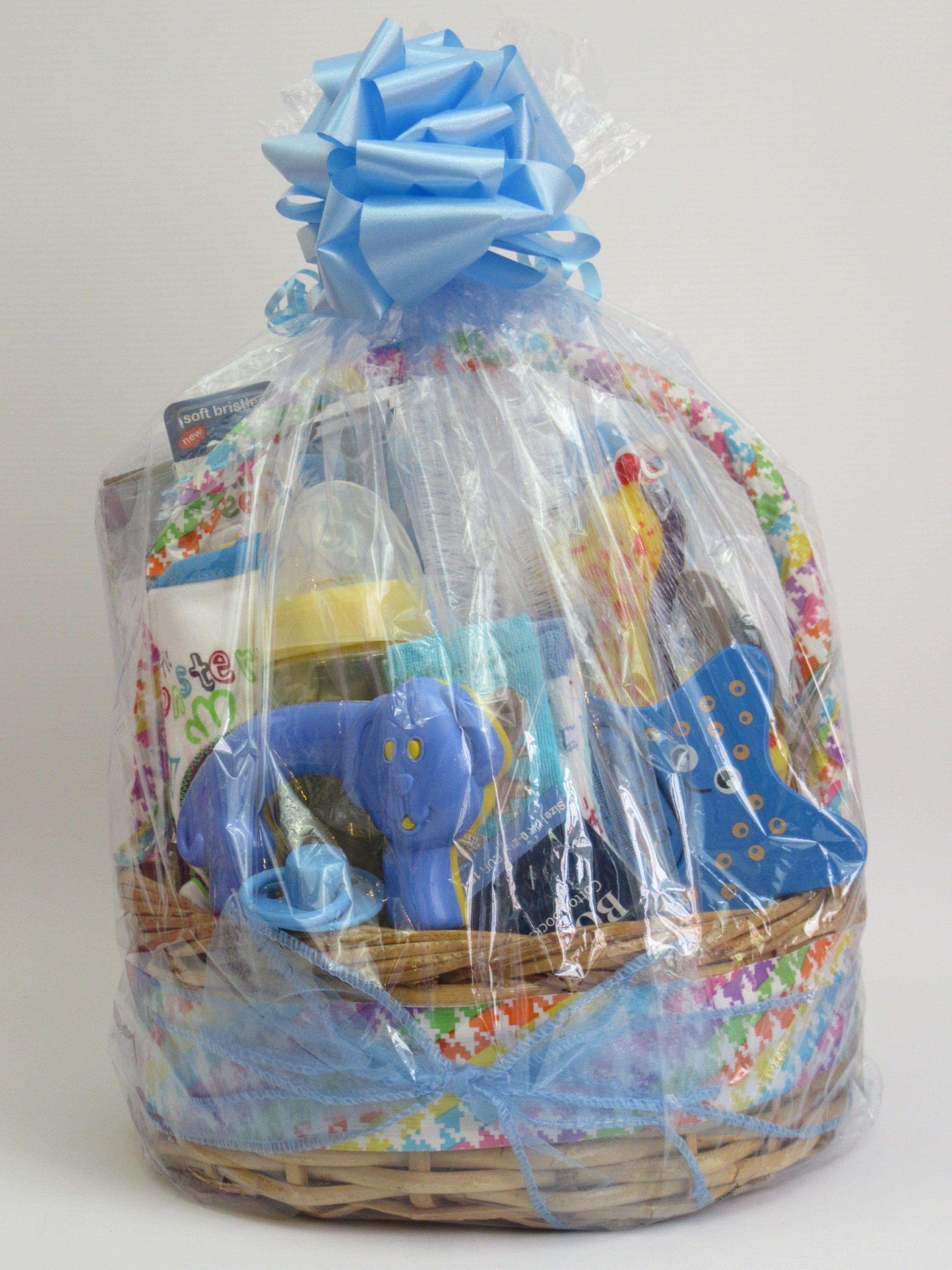 Baby boy essentials gift basket httpwwwebaycouk