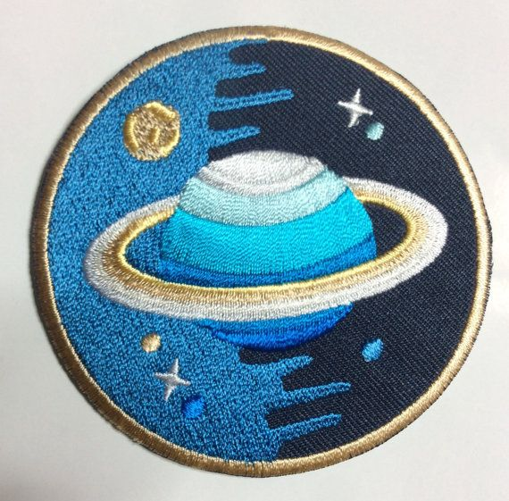 PLANET MELT patch | Iron on patches, Clothing patches ...