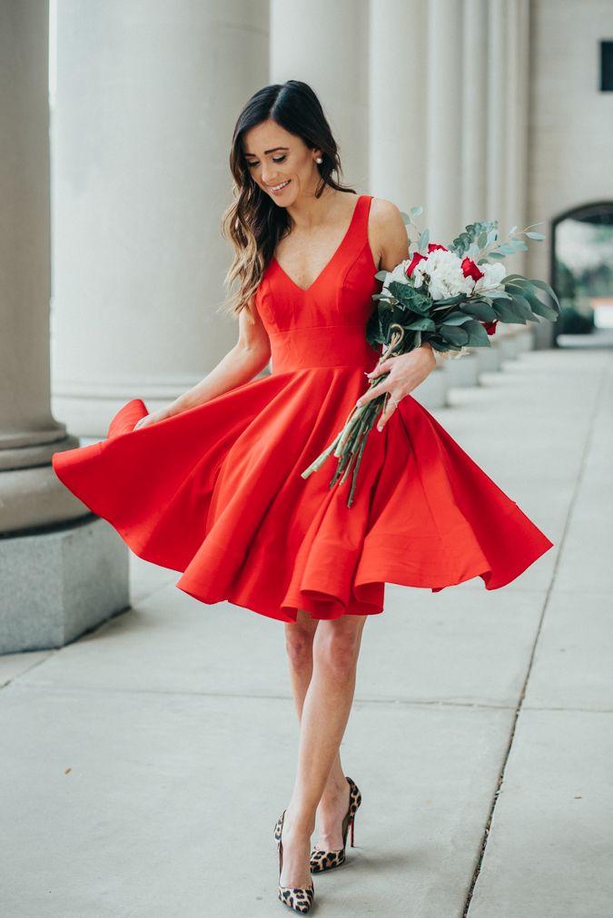 Klänning Lady In Red Klänningar
