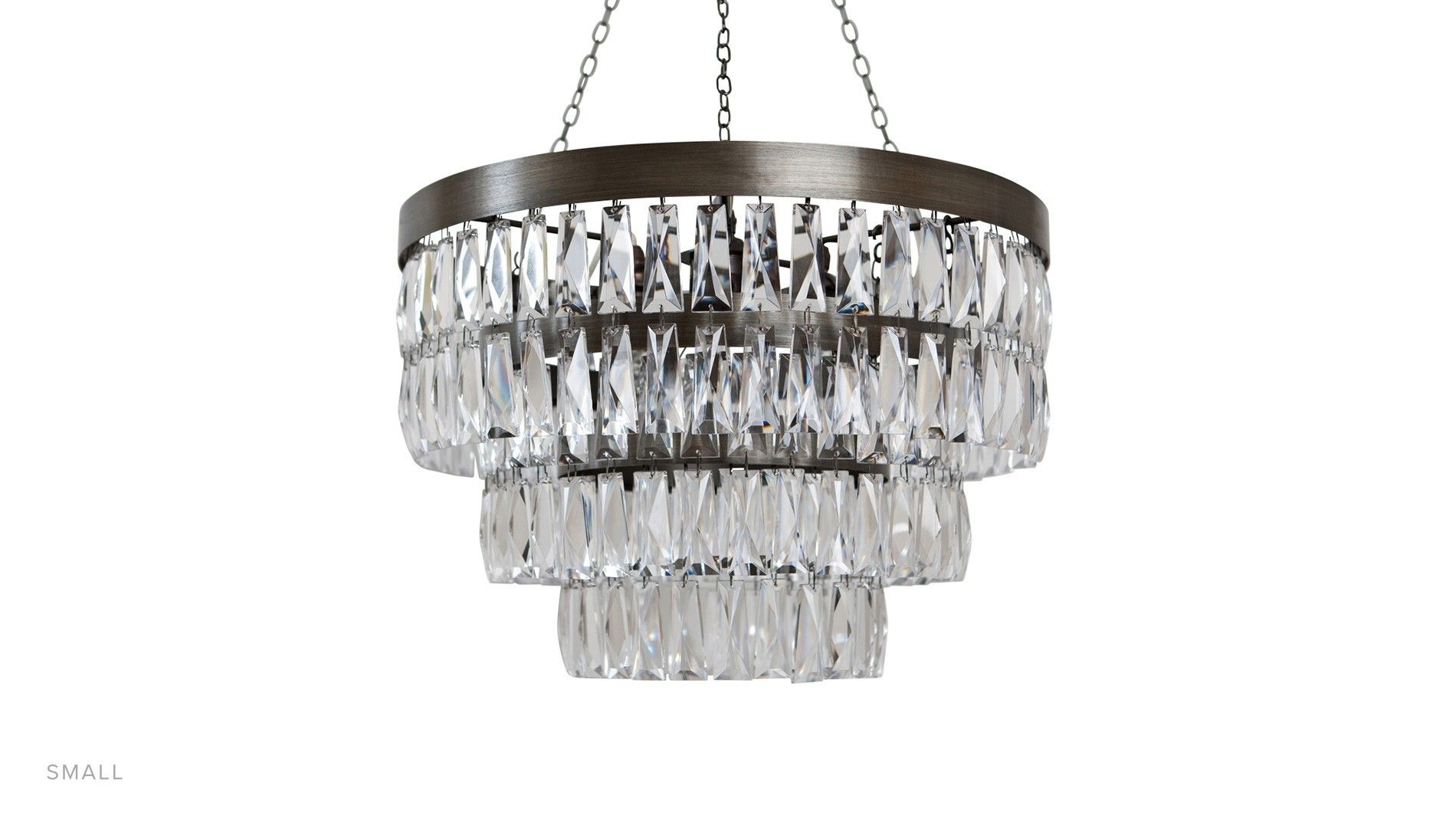 BedroomLinear Chandelier Beaded Small Crystal Modern Chandeliers For Living Room Chain