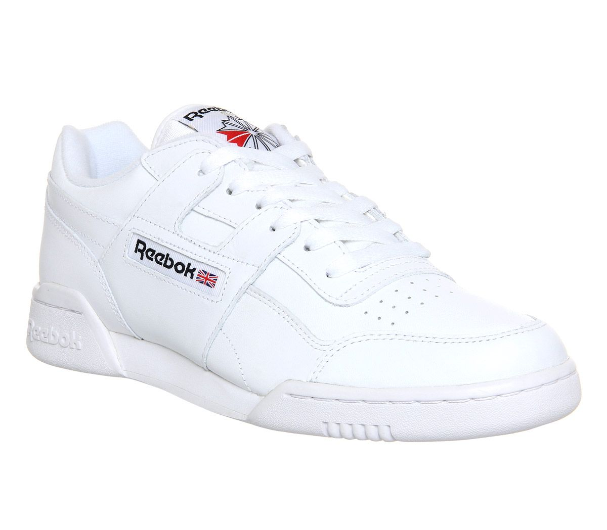 Reebok Workout Plus White Black - His trainers
