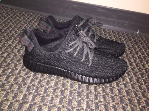 yeezy boost 350 pirate black 9.5 adidas yeezy 350 boost for sale black and gray