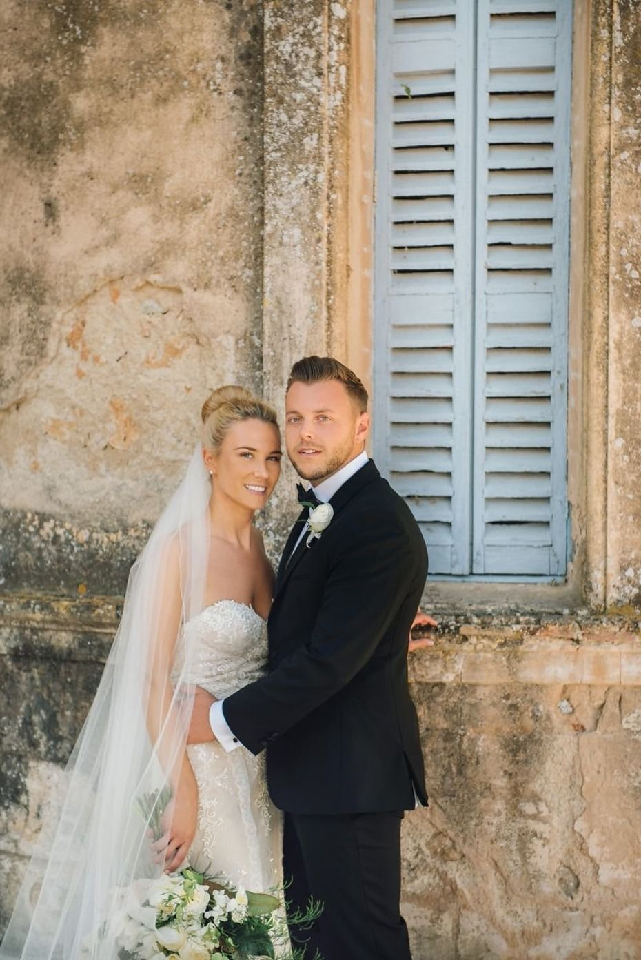 Elegant Summertime Wedding At A French Cau