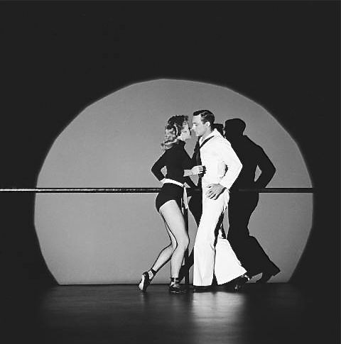 Vera Ellen and Gene Kelly in ON THE TOWN (1949).